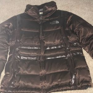 🦉AUTHENTIC BROWN NORTH FACE WINTER COAT🦉